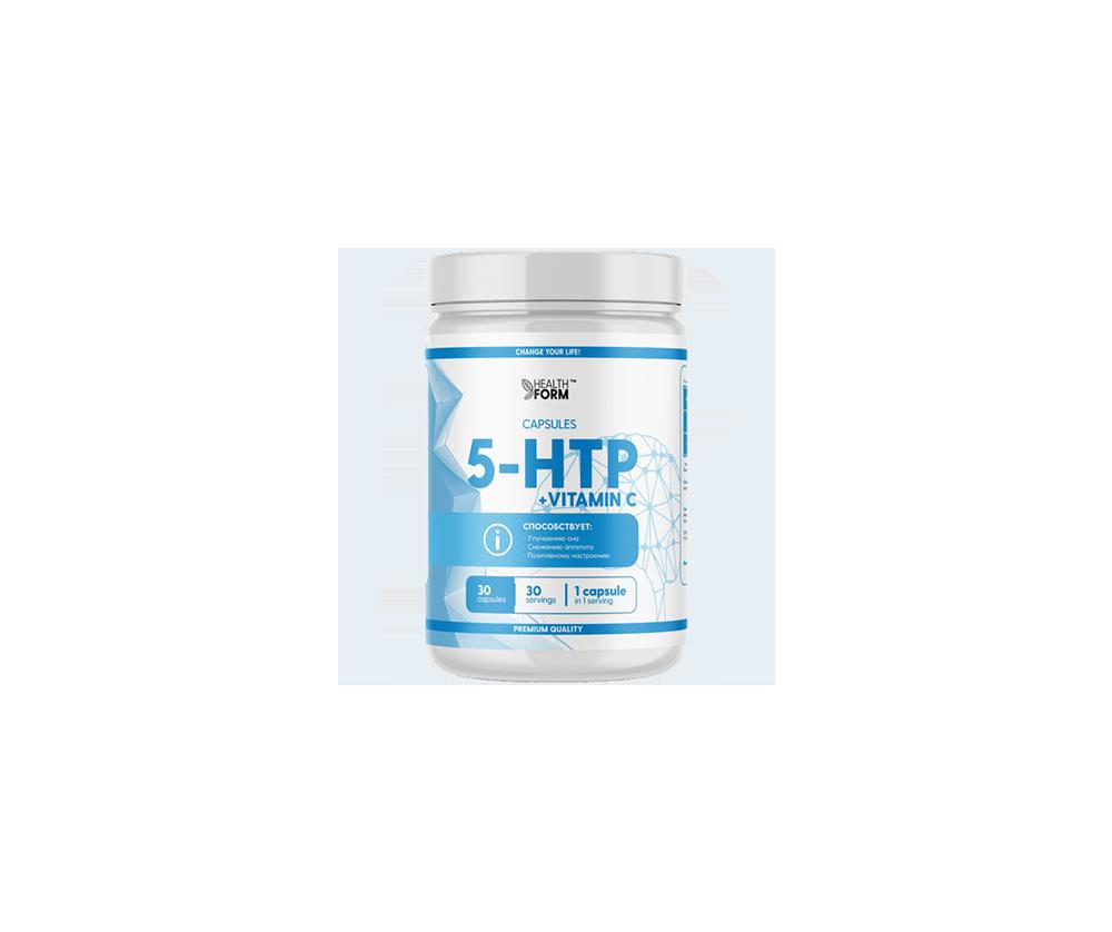5-HTP + VITAMIN C 30 капсул 3490 тенге