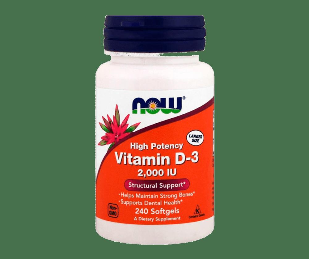 Vitamin D3 2000 240 Капсул 6990 тенге