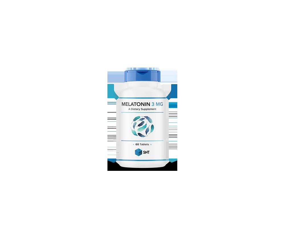 Melatonin 3 mg 90 таб 3990 тенге