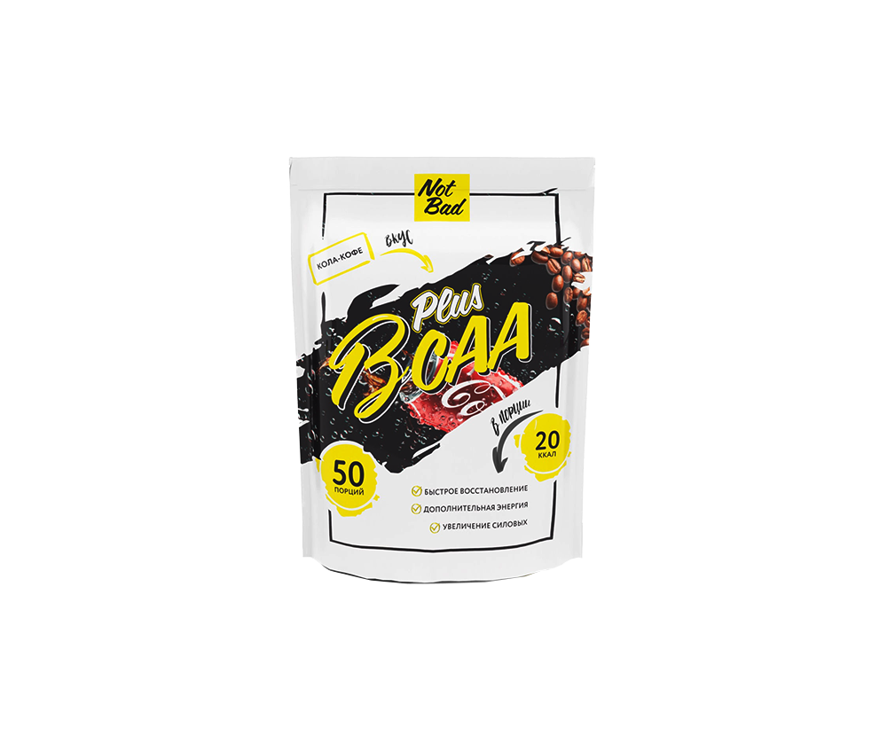 ВСАА 2-1-1 + Витамин С NotBad 250гр 3990 тенге