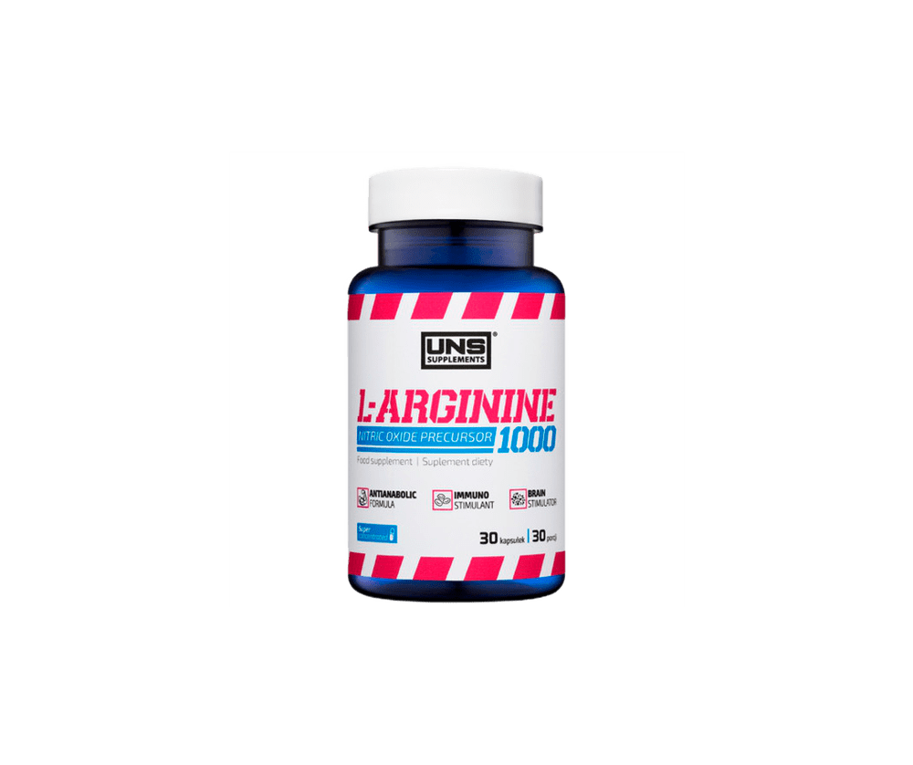 L-Arginine 1000 90 Капсул 5990 тенге