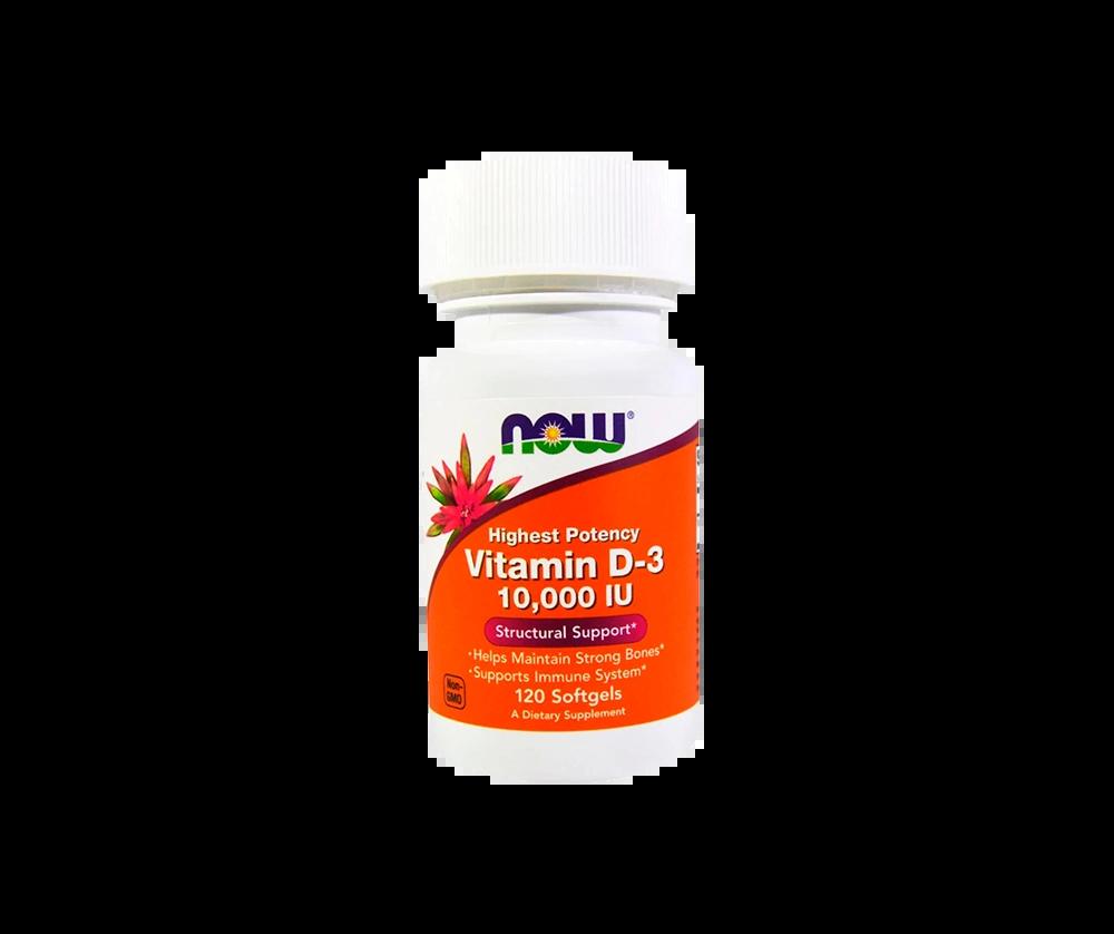 Vitamin D3 10000 120 Капсул 7490 тенге