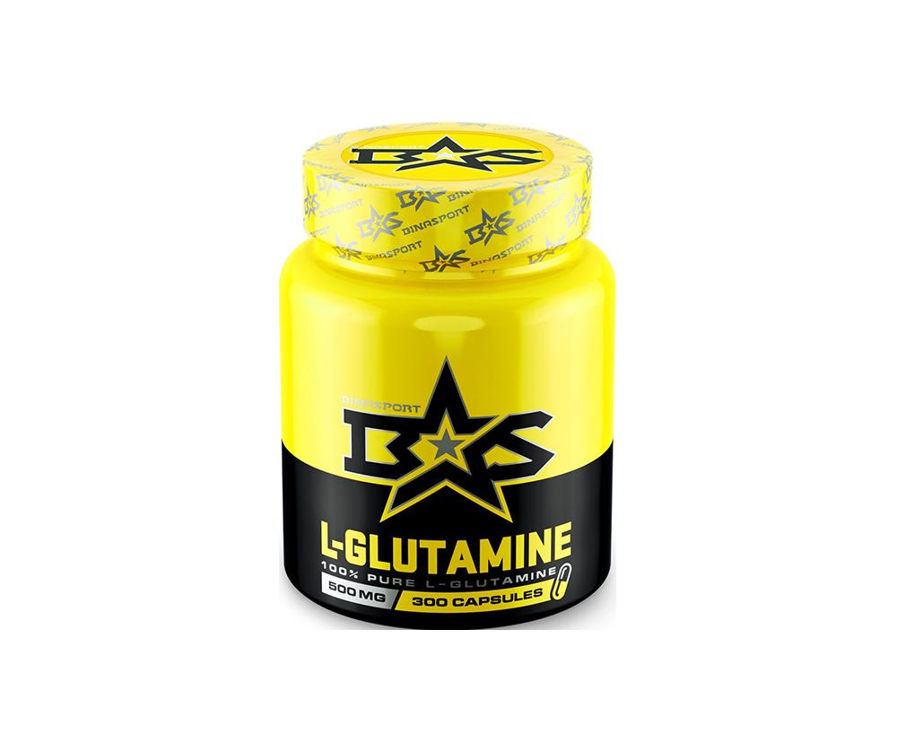 L-Glutamine  500мг 300 Капсул 7490 тенге