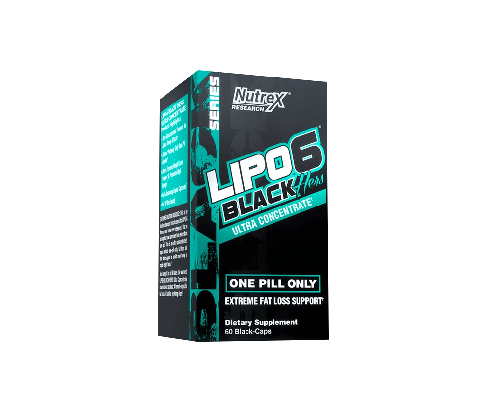 Lipo 6 Black Hers Ultra Concentrate 60 Капсул 9990 тенге