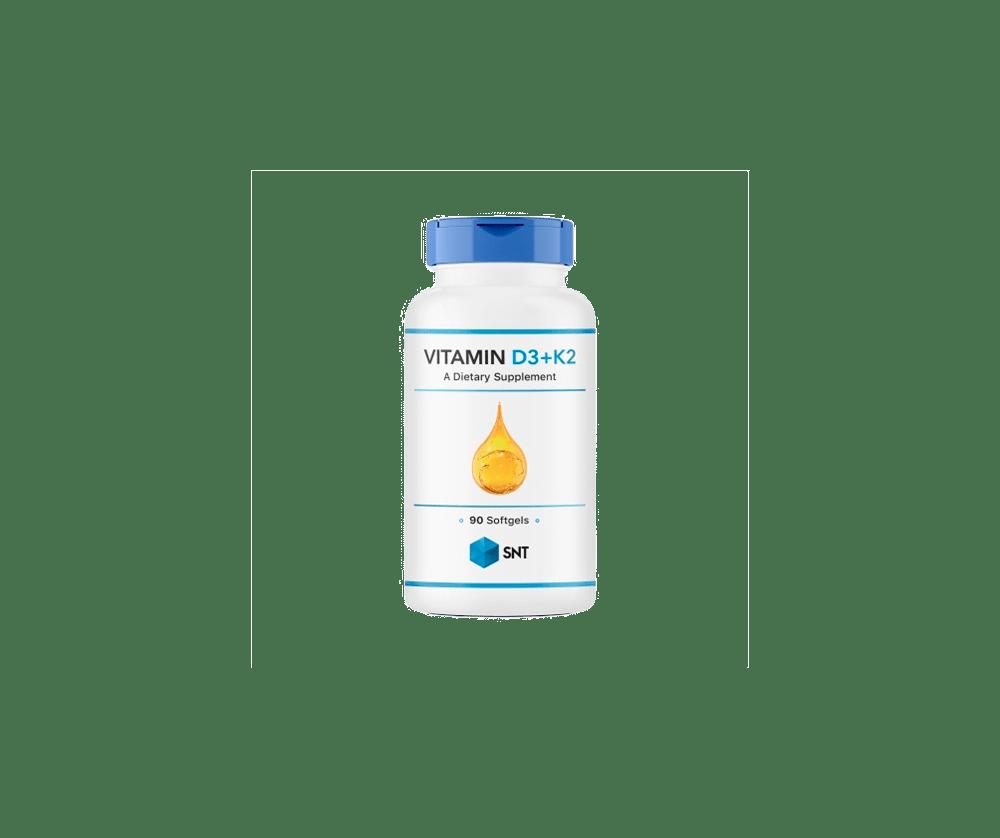 Vitamin D3 + K2 90 Капсул 5990 тенге