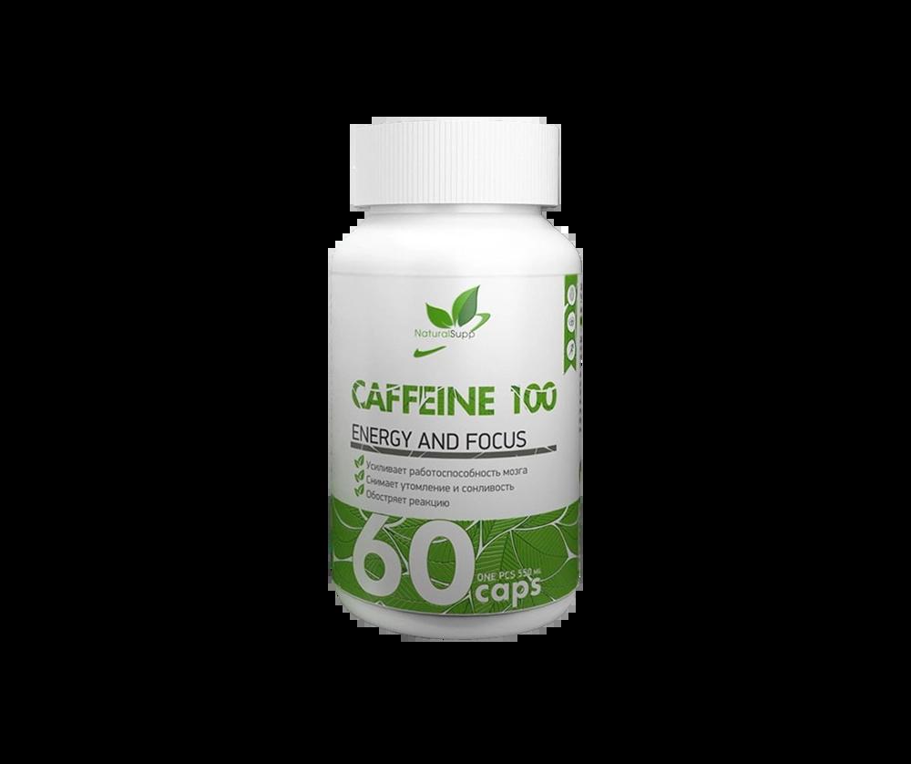 Caffeine 100 60 Капсул 2990 тенге