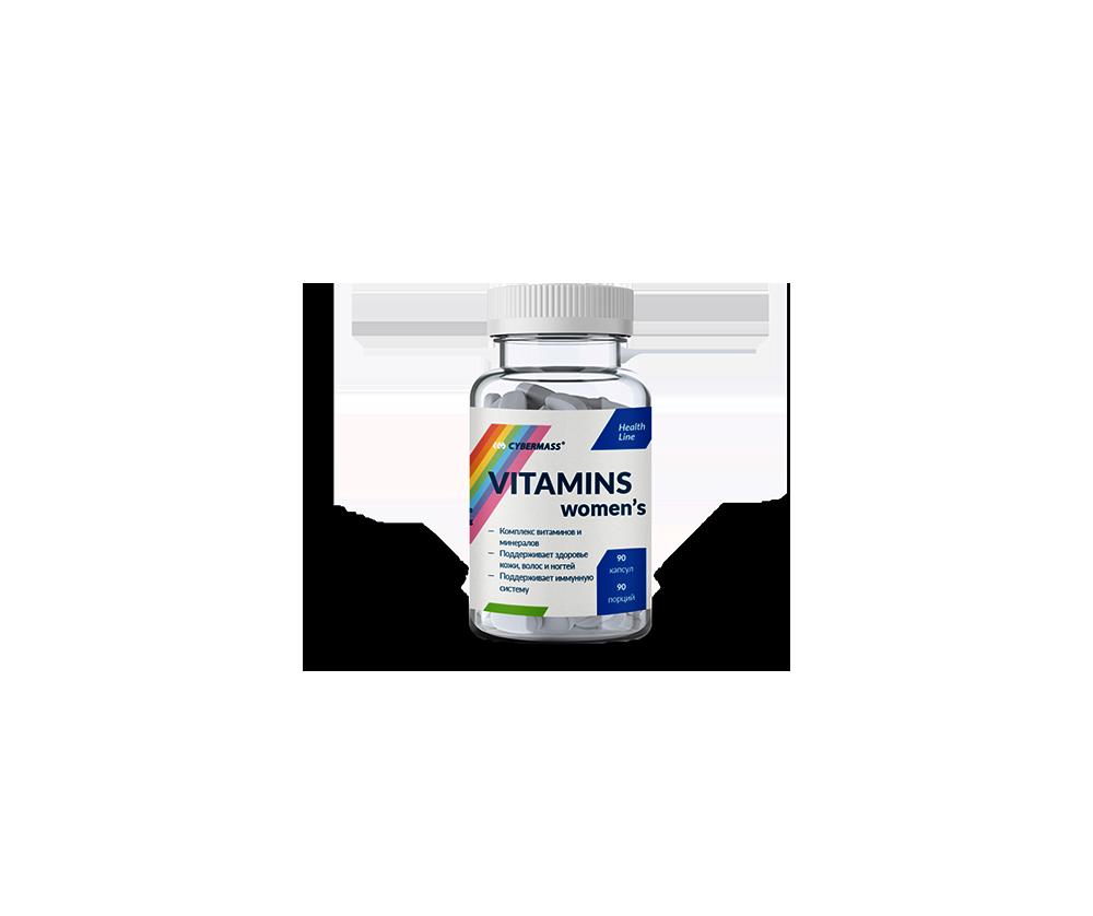 Vitamins Womens 90 Капсул 4990 тенге