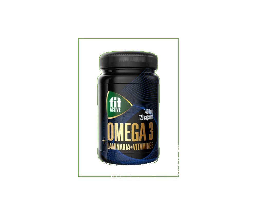Omega 3 + Laminaria 120 Капусл 6490 тенге