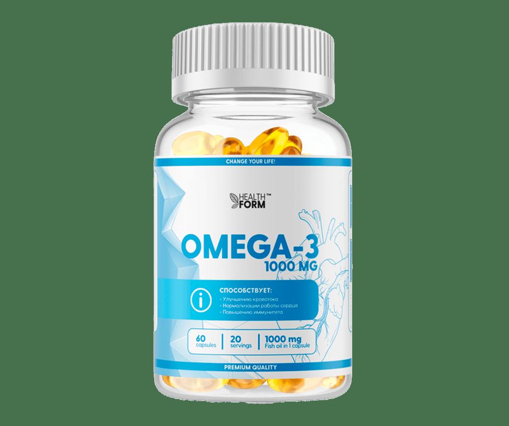 Omega 3 1000mg 60 Капсул 3190 тенге
