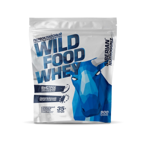 Wild Food Whey 900г, 9490 тенге