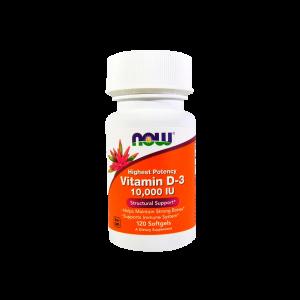 Vitamin D3 10000 120 Капсул, 7490 тенге