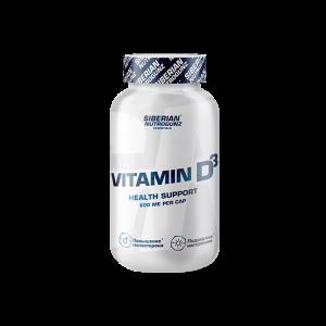 Vitamin D3 600мг Siberian 180 Таблеток, 4990 тенге