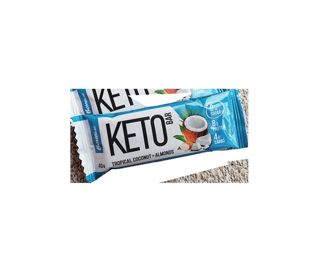 KETO Bar 40 гр 525 тенге